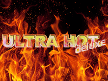 На зеркале казино Ultra Hot Deluxe